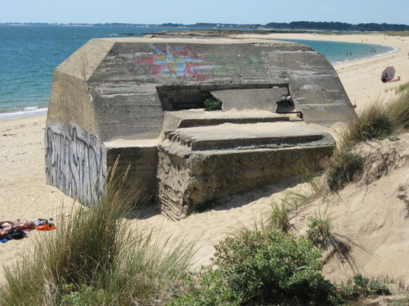 German bunker from WWII