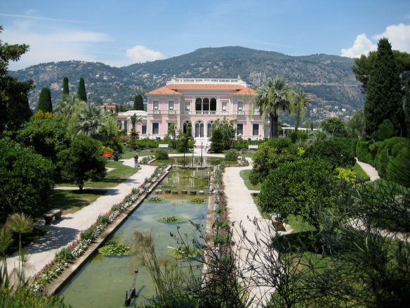 Villa Rothschild on  St. Jean Cap Ferrat, magic and beauty in the south of France