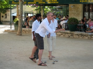Pétanque in Provence
