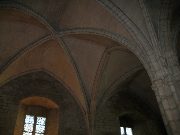 Gothic Arches in the Palace