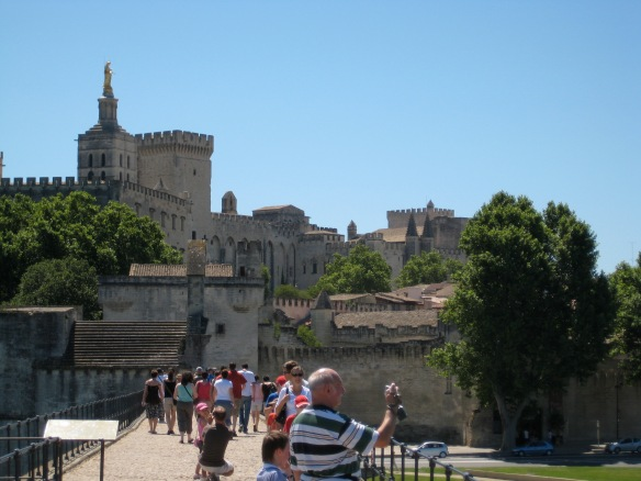The Palace from the Pont d'Avignon