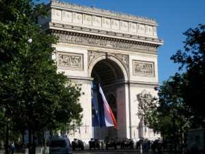 Arc de Triomphe on Bastille Day