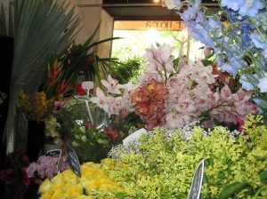 Flower shop in Paris