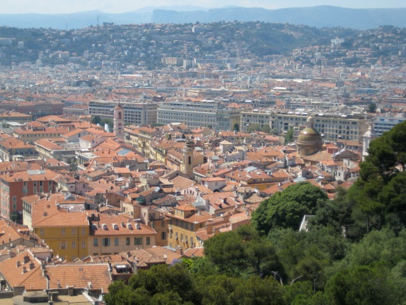 Rooftops of Old Nice