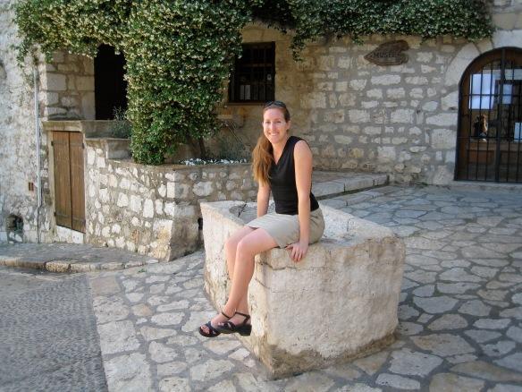 Moi, in St. Paul de Vence, 2008