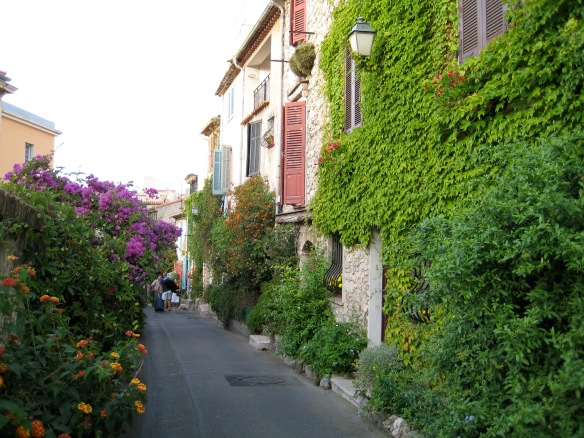 Street in old Antibes