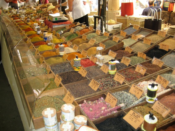 Spices in the Marche Provencal