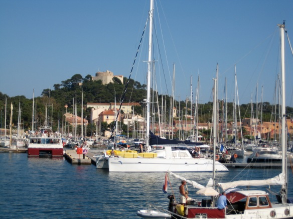 The Bay, with the fort in the background