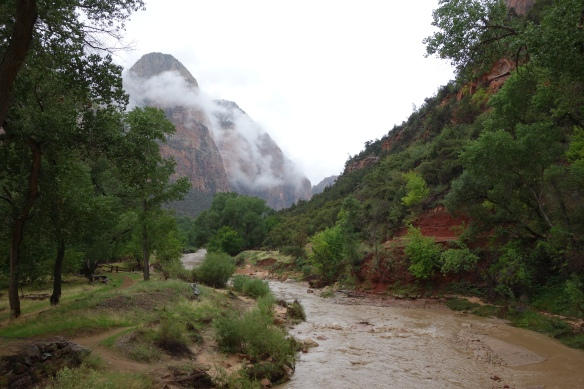 A wet but beautiful Zion