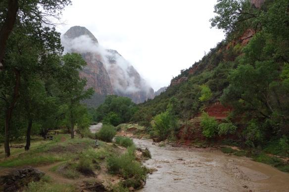 A wet but beautiful Zion