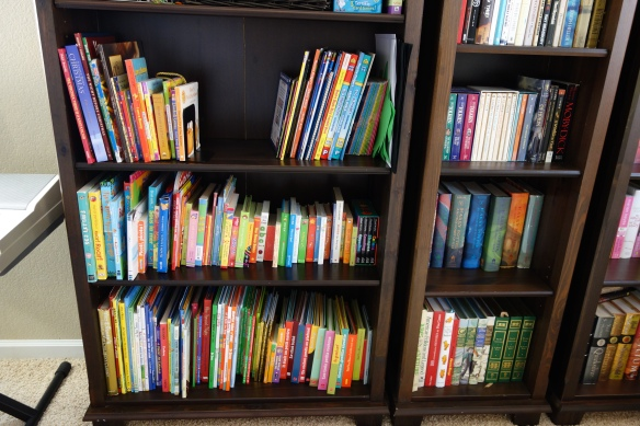 Our bilingual bookshelf