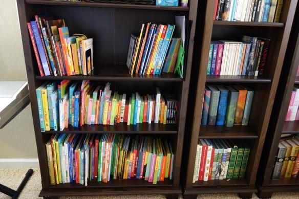Our bilingual bookshelf