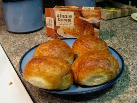 Trader Joe's croissants for now... whenever TJ's opens in Colorado!