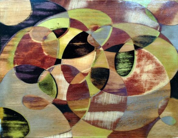 Circle of Life - Fusion Marquetry