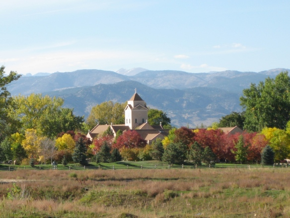 Fall colors outside of Boulder, Colorado