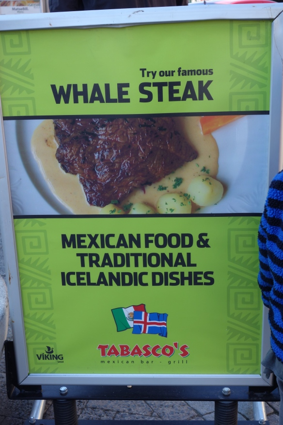 Hmmm. We did not partake, but I'm still curious about how Mexican food and Icelandic food would be combined...